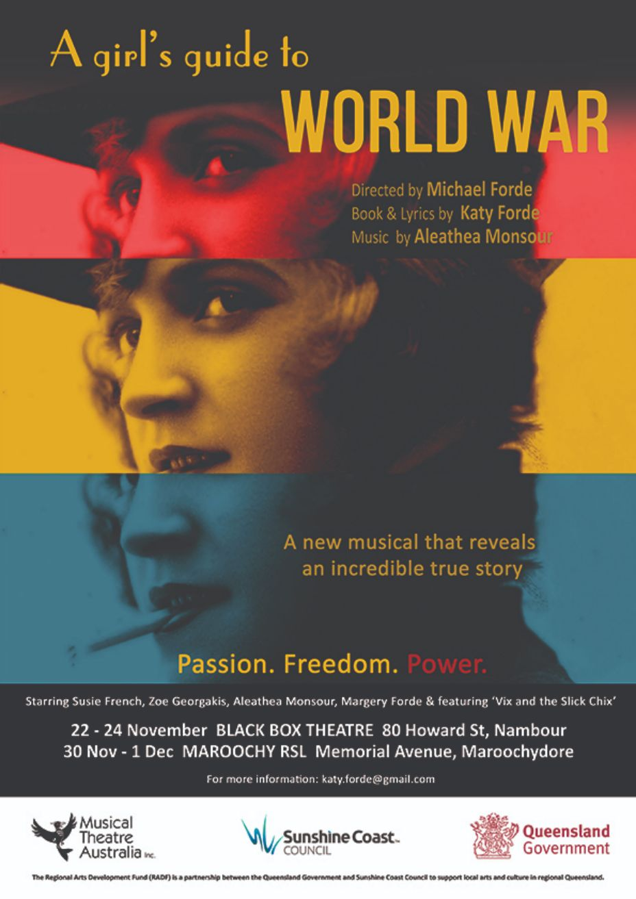 Audition Call : Girl's Guide to World War