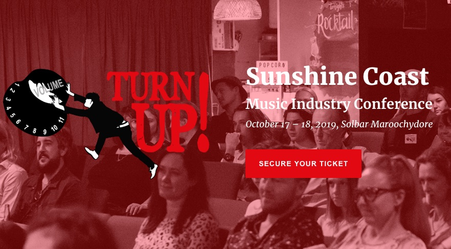 Turn Up Music Conf Banner
